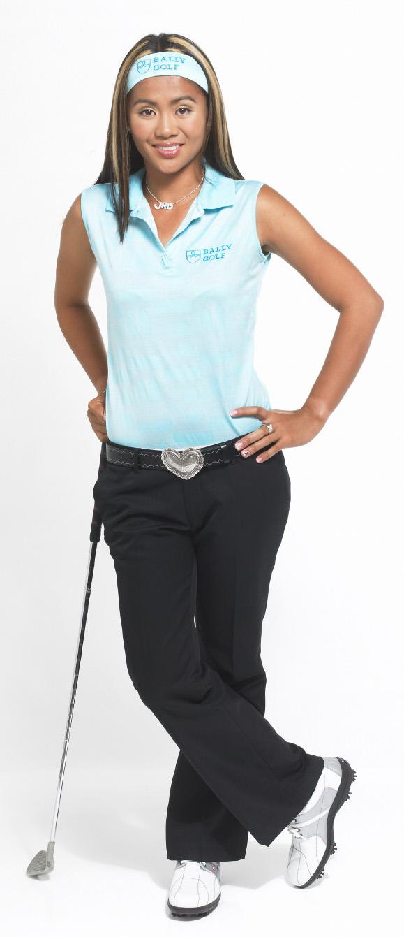 Pro golfer Jennifer Rosales (Photo courtesy of Filipinas Magazine)