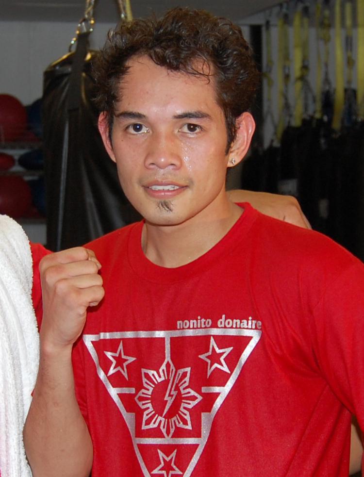 Boxing champion Nonito Donaire, Jr.(Photo by Raymond Virata)