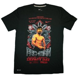 Pacquiao t-shirt  (Source:  Amazon.com )