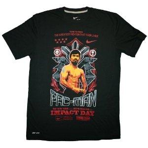 Pacquiao t-shirt  (Source:  Amazon.com )