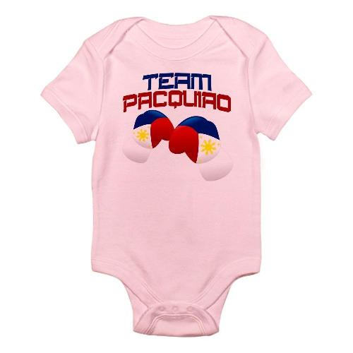 Pacquiao onesie (Source:  Amazon.com )