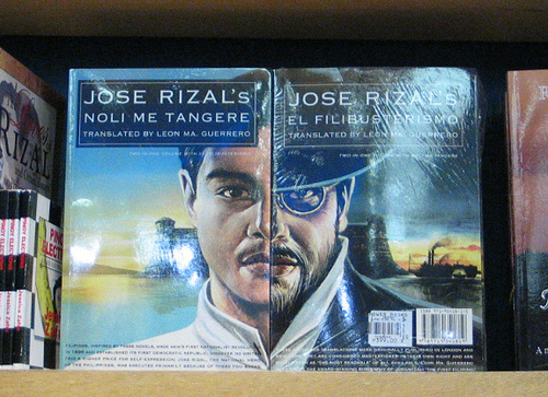 Jose Rizal's Noli Me Tangere and El Filibusterismo (Source: malagkitnagalapong.tumblr.com)