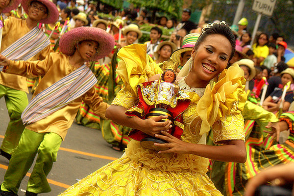 The Sinulog Festival of Cebu, third Sunday of January (Photo by Marcelino Rapayla, Jr.)