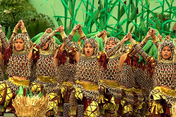 The Sinulog Festival of Cebu, third Sunday of January  (Photo by Marcelino Rapayla, Jr.)