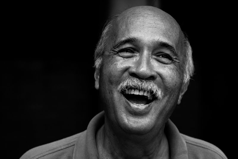 """Sixto Carlos Jr."" from DARK MEMORIES of torture, disappearances, incarceration, and death under MARCOS – A collection of portraits of some of the 1,081 former political detainee-claimants who received $1,000 each last year as restitution.   (Photo by Rick    Rocamora )"