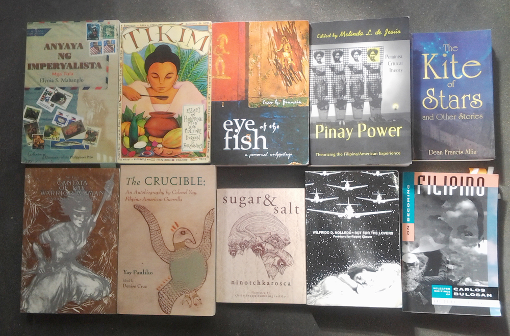 Filipino-authored books you must read (Photo by Barbara Jane Reyes)