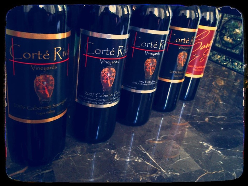 The winery's brands–Corte Riva and Cortez 78  (Source:  facebook.com/corteriva )