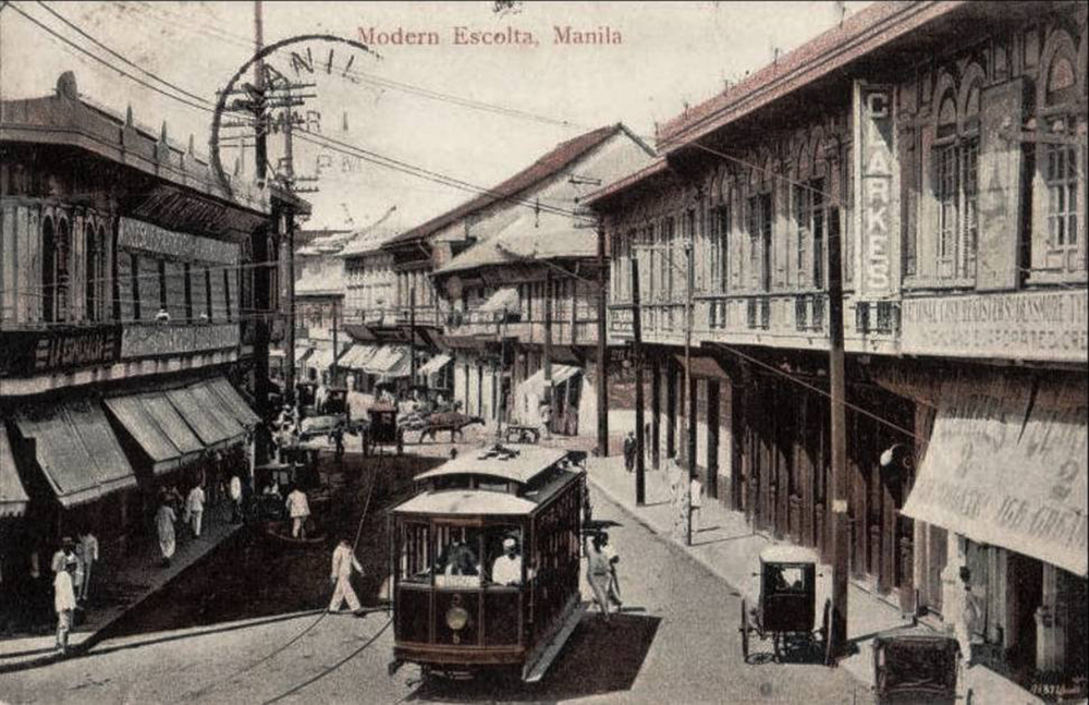 Escolta in the 1920s (Source: Philclassic)