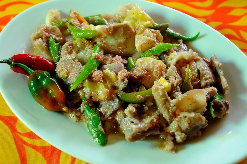 Bicol Express from Balay Suanoy Restaurant  (Photo by Wilson Tan)