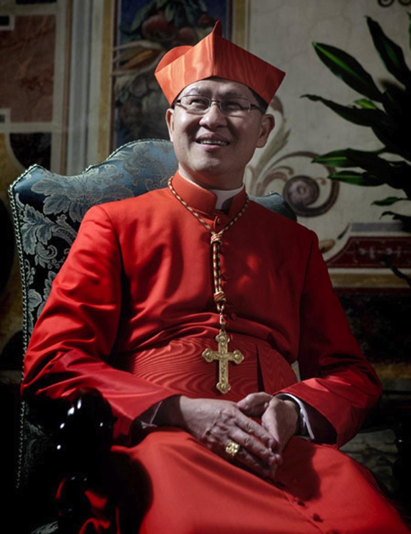 Cardinal Luis Antonio Tagle (Newscom)