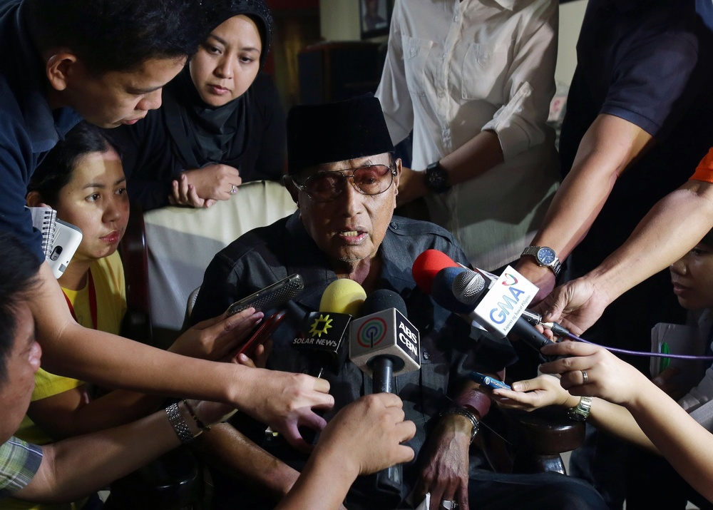 Sultan of Sulu Jamalul Kiram III (AP)
