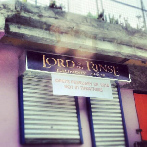 Lord of the Rinse, a laundry service (Photo by Hoton Elicano)