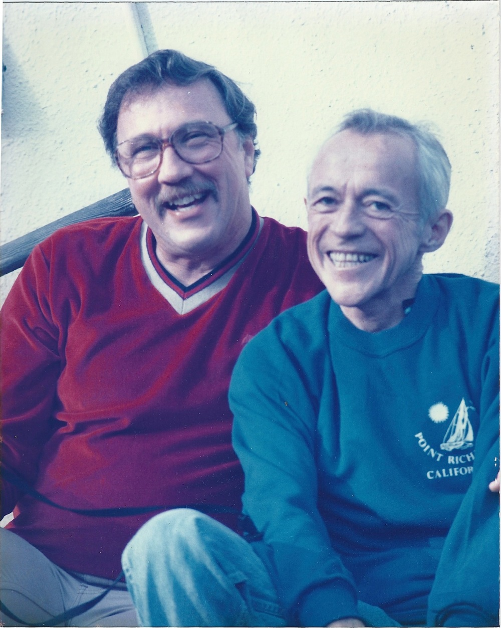 Hank Vilas (right) and his partner Bob (Photo courtesy of Nikki Vilas)