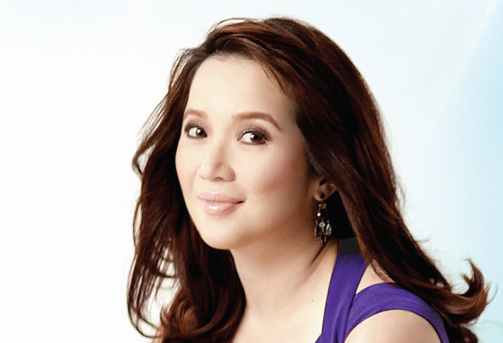 Celebrity Kris Aquino, the Philippines top taxpayer in 2011  (Source: Universal Records)