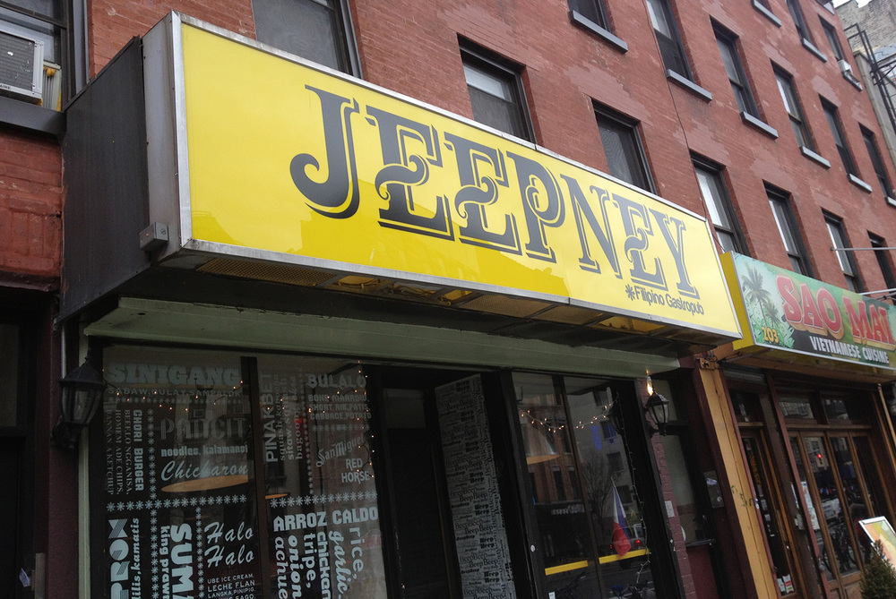 JeepneyNYC in New York's East Village  (Photo by Elizabeth Ann Quirino)