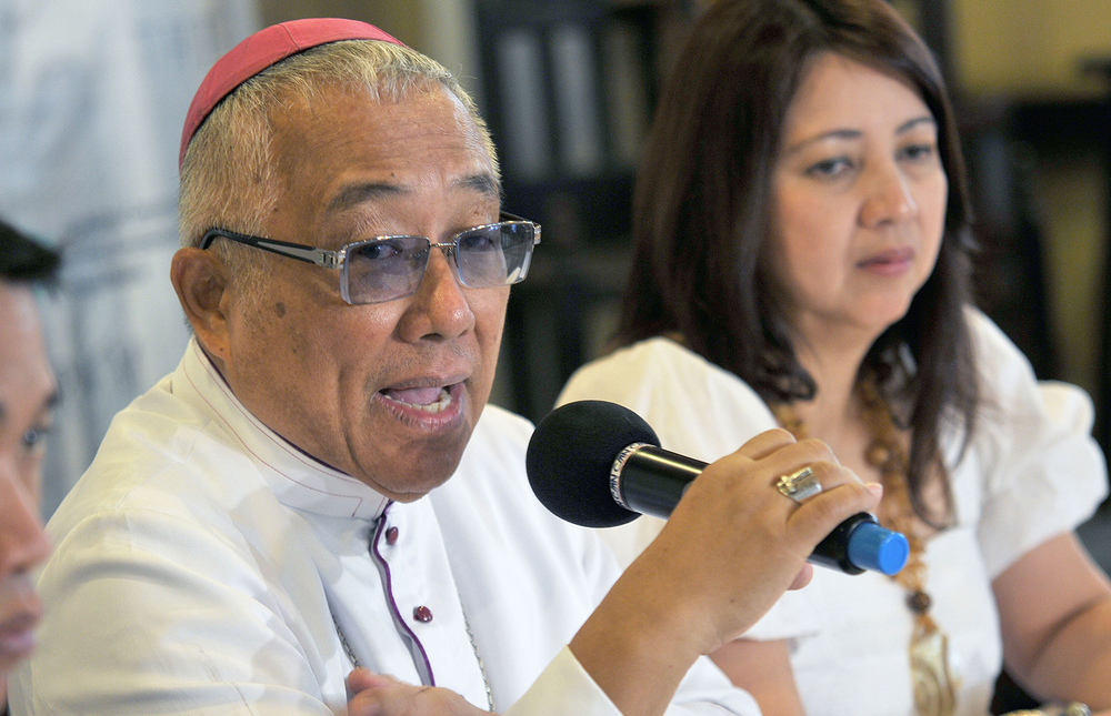 Lipa Archbishop Ramon Arguelles (Photo courtesy of Newsbreak)