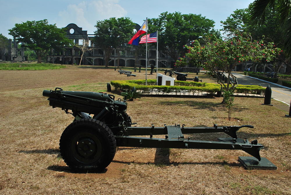 Topside Parade Ground and Mile-Long Barracks  (Photo by Bernard L. Supetran)