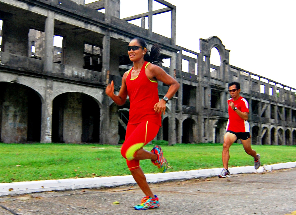 Half Marathon at Mile-Long Barracks  (Photo by Bernard L. Supetran)