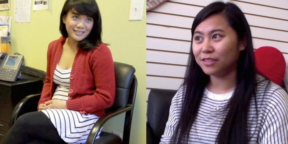 Filipina DREAMers Catherine Eusebio (left) and  Katherina May Lacap  (Photo courtesy of TIGRA)