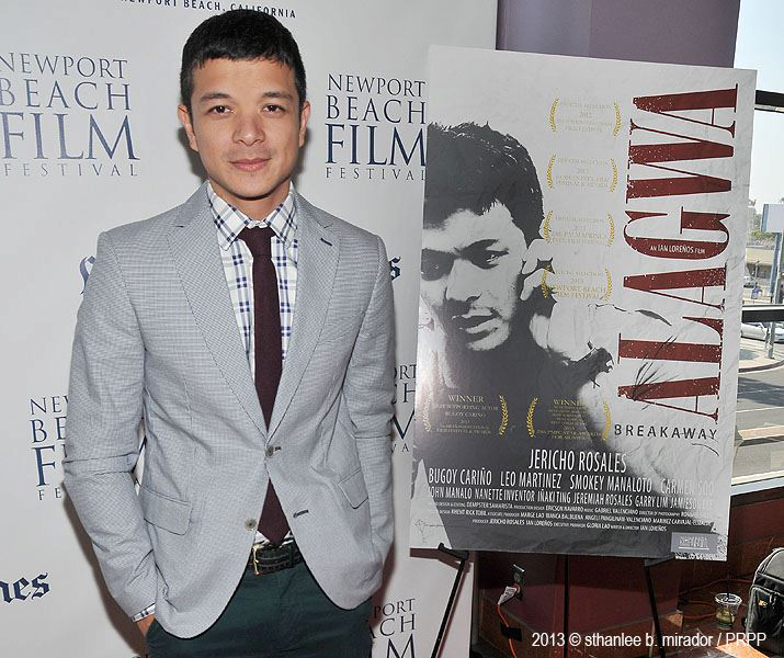Jericho Rosales at 2013 Newport Beach Film Festival  (Photo by Sthanlee Mirador)