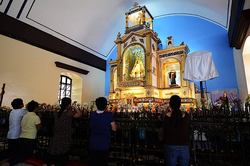 Our Lady of Manaoag  (Archdiocese of Lingayen-Dagupan) (Photo by Noli Yamsuan)
