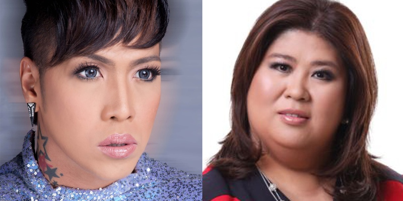 Vice Ganda (left) and Jessica Soho (Source: Star Cinema and GMA)