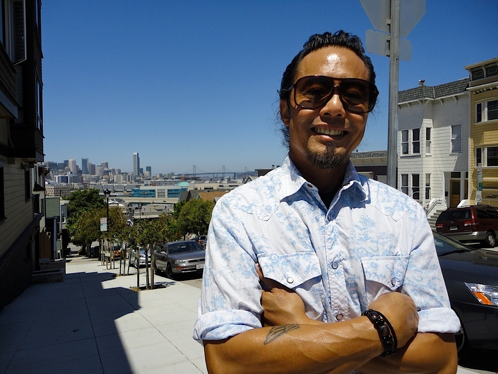 Fil-Am Director Benito Bautista in San Francisco, the birthplace of his filmmaking career. (Photo by Emma Francisco)