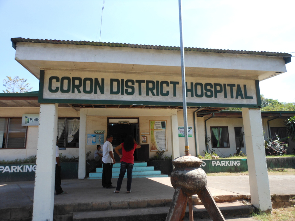 The Coron District Hospital in Palawan is the first local hospital adopted by a foreign medical mission, the World Surgical Foundation. (Photo courtesy of the Department of Health)