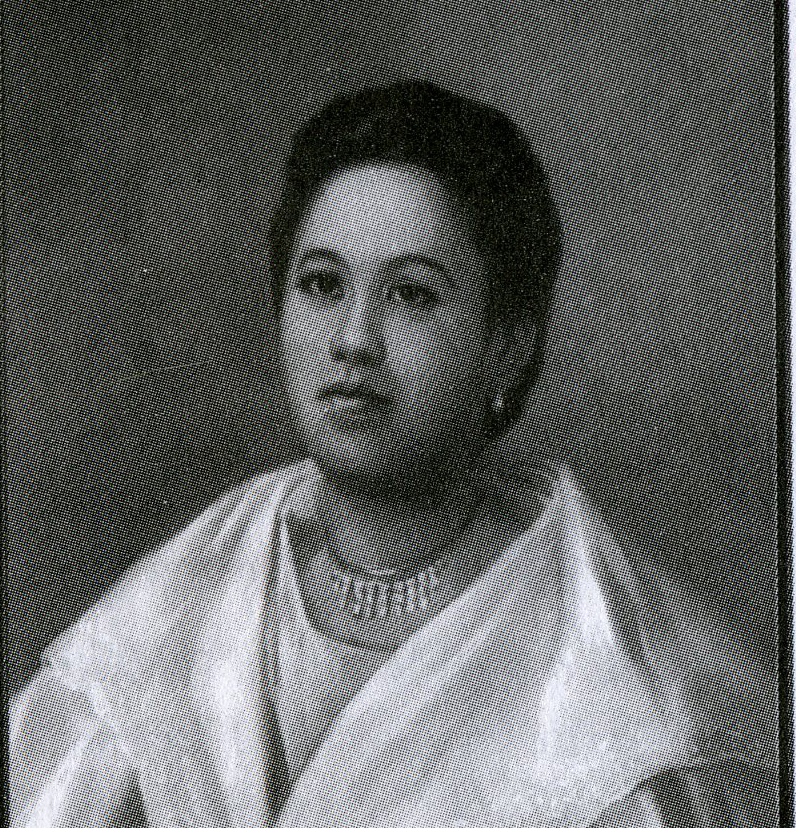 Leonor Valenzuela  (Photo from Pablo Trillana III, The Loves of Rizal and other Essays on Philippine History, Art, and Public Policy)