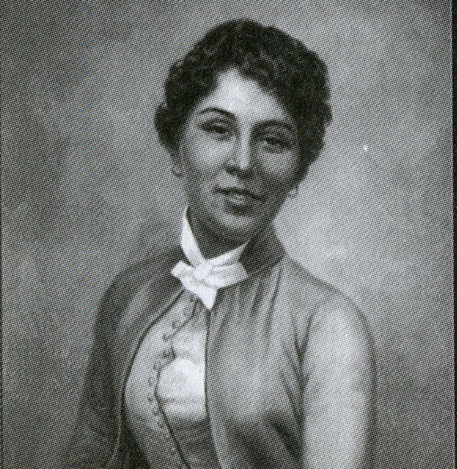 Gertrude Beckett (Photo from Pablo Trillana III, The Loves of Rizal and other Essays on Philippine History, Art, and Public Policy)