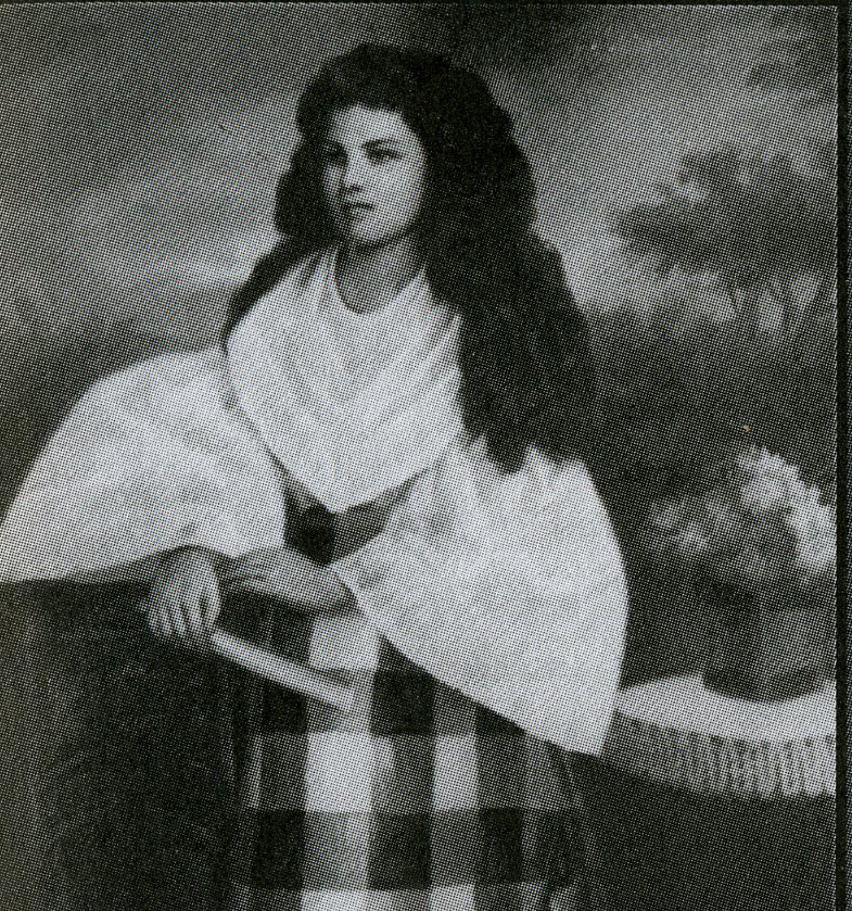 Josephine Bracken (Photo from Pablo Trillana III, The Loves of Rizal and other Essays on Philippine History, Art, and Public Policy)