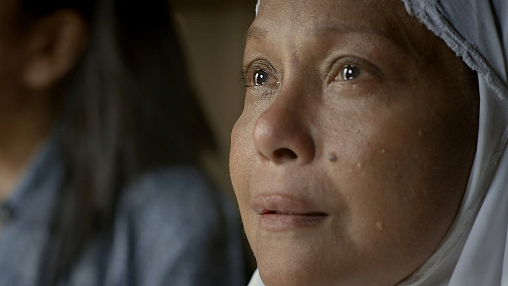 "Nora Aunor in Brillante Mendoza's ""Thy Womb,"" the controversial film that won her several awards, including the 2012 Gawad Urian.  (Source: arte-Factos.net)"