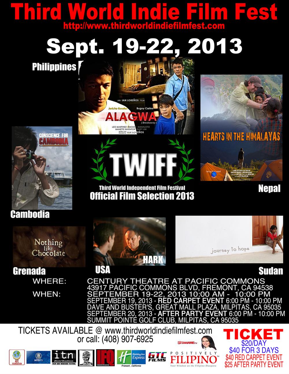 3rd annual Third World Indy Film Festival