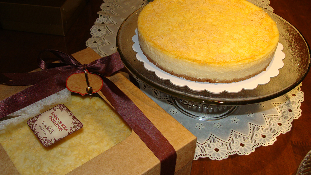 Queso de Bola Cheesecake from Pampanga  (Photo by Elizabeth Ann Quirino)