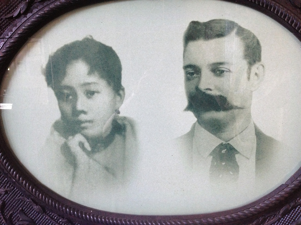 Leonor Rivera and husband Charles Kipping  (Photo by Elizabeth Ann Quirino)