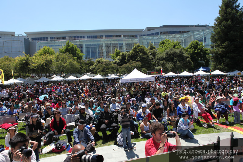 Pistahan Festival at Yerba Buena Gardens in San Francisco  (Photo by Jong Arcega)
