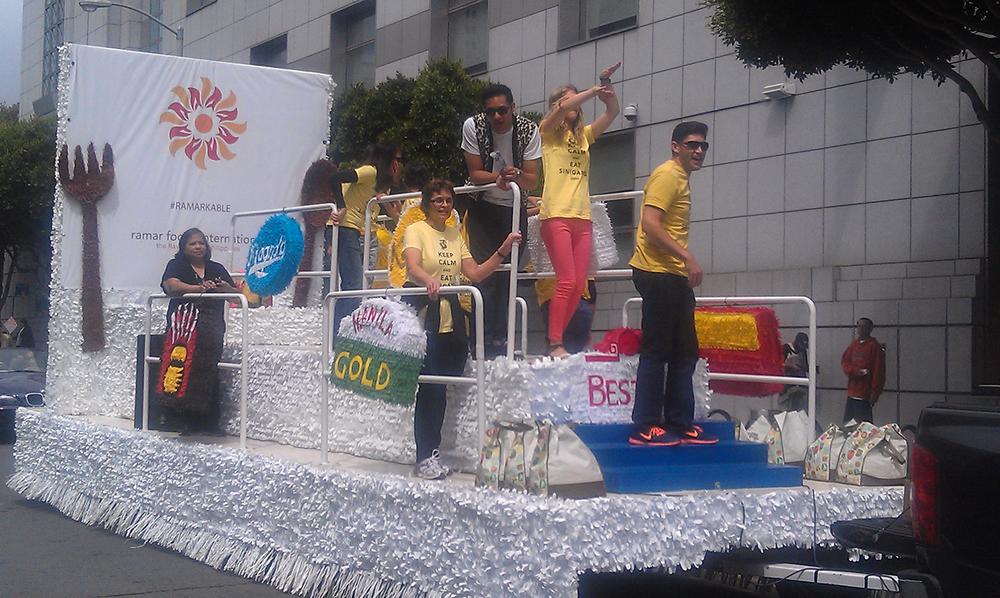 Ramar is always active in community events like the 2013 Pistahan Festival and Parade in San Francisco.  (Photo by Raymond Virata)