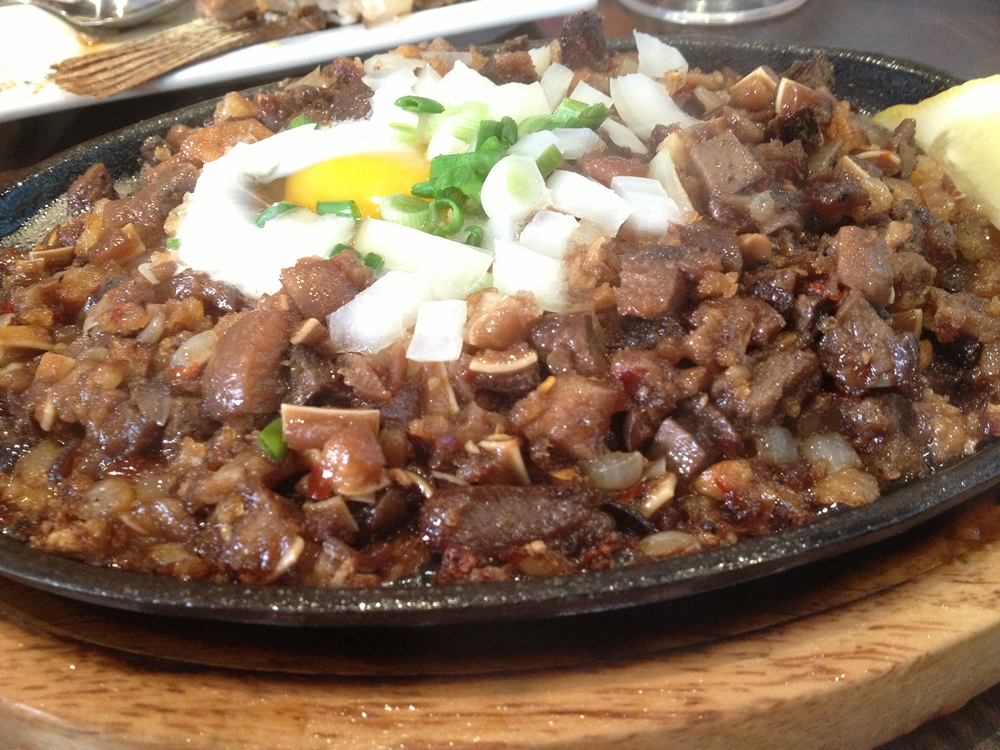 Grill 21's Pork Sisig (Photo by Elizabeth Ann Quirino)