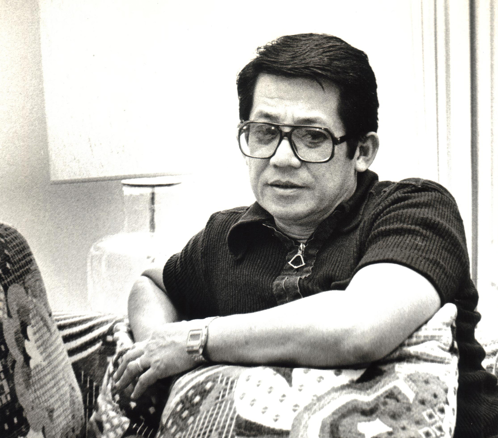 Ninoy in San Francisco (Photo courtesy of Ken and Lupita Kashiwahara)