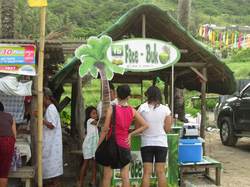 face buk-o in Bangui, Ilocos Norte  (Photo by Dedette Sison-Santiago)