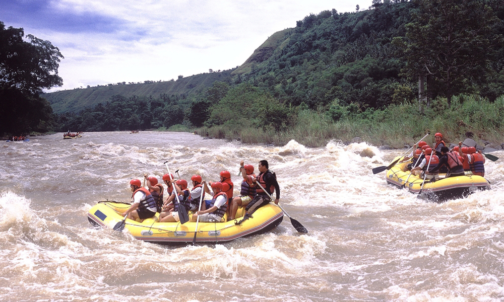 Whitewater rafting in Cagayan