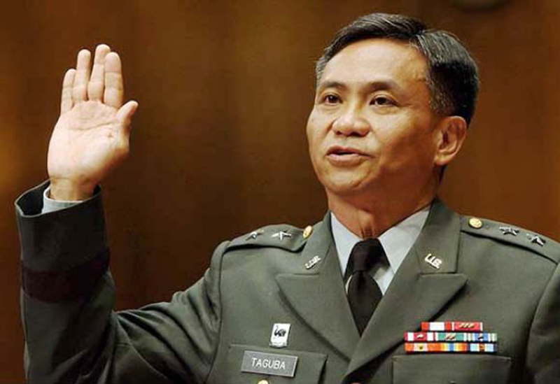Maj. Gen. Antonio M. Taguba testified before the Senate Armed Services Committee in Washington, 2004 (Photo by Dennis Cook/AP)