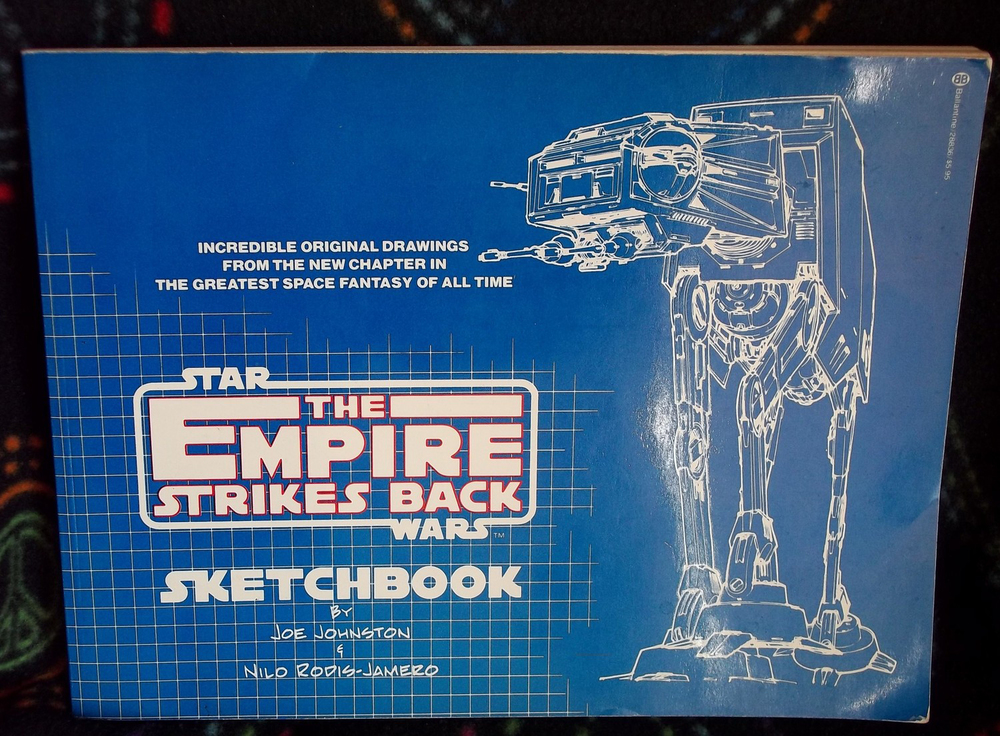 The Empire Strikes Back Sketchbook (Photo courtesy of Rodel Rodis)