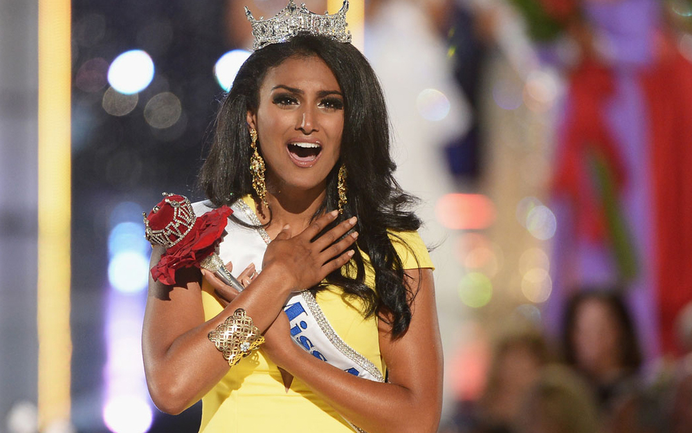 Newly-crowned Miss America Nina Davuluri (Source: theguardian.com, photo by Getty Images)