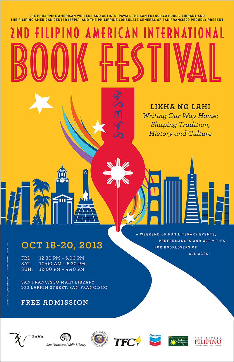 PARTNER: 2nd Filipino American International Book Festival