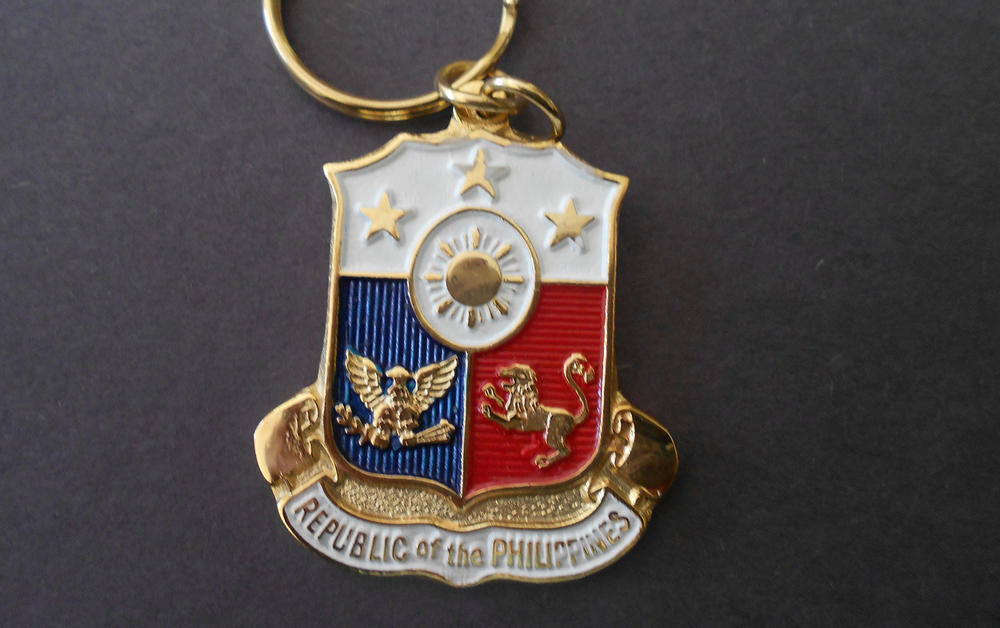 The Coat of Arms of the Republic of the Philippines, designed by Ocampo (Photo by Ruel Hector R. Tiongson)