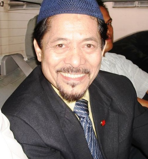 Nur Misuari of the Moro National Liberation Front (Source: Wikimedia Commons)