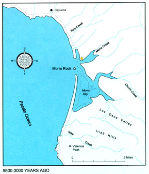 Morro Bay 3,000 years after the Ice Age