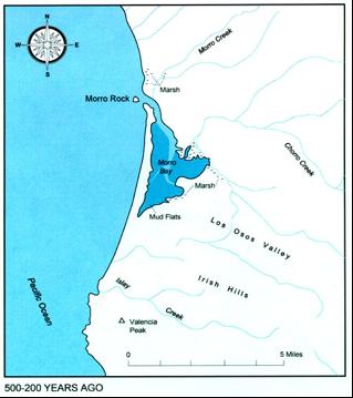 Morro Bay in the 16th century