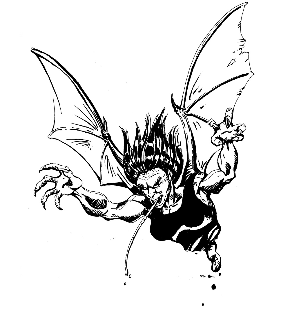 Manananggal (Illustration by Alex Paman)